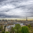 Asperitas Clouds Over Paris