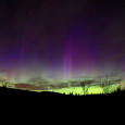 Springtime Aurora Over Quebec and Massachusetts
