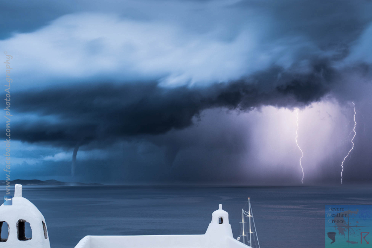 Double Waterspouts - Double Lightning (1)