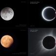Observations of All Four Eclipses in 2017