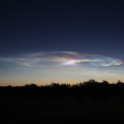 Missile Trail Observed Over Southeastern California and Western Arizona