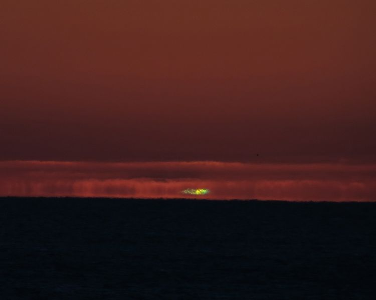 The first Green Flash of 2015