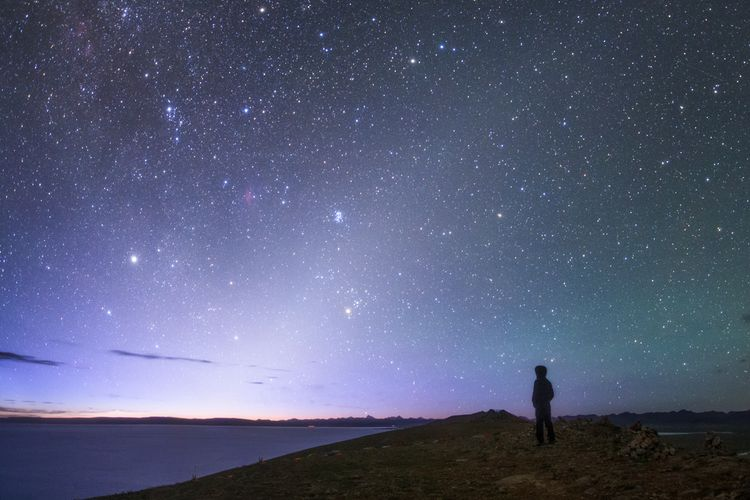 Zodiacal light before dawn_1200