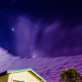 Lunar Lights Over New South Wales