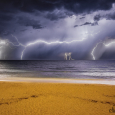 Lightning Display Above the Ionian Sea