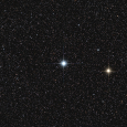 Contrasting Star Pair in Auriga