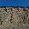 Discordance Between Mesozoic and Paleozoic Rock Layers