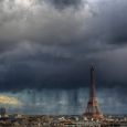 Rain Curtains Over Paris