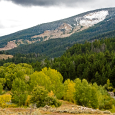 Bridger-Teton National Forest and the Gros Ventre Slide