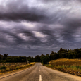 Asperitas Clouds Over Evia Island, Greece