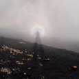 Brocken Spectre on Mount Etna