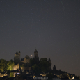 Castle Braunfels, Perseid Meteors and Mars