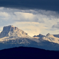 Montana's Majestic Chief Mountain