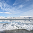 Utah Lake in Winter