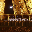 Partial Lunar Eclipse Observed from Paris, France