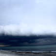 Shelf Cloud off Hollywood, Florida