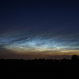 Noctilucent Clouds Viewed Above Bonn, Germany