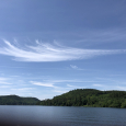 Mare's Tails Above Schroon Lake, New York