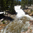 Drought's End at Provo River Falls