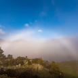 Fogbow Over Zeriki Village, Mount Helicon Greece