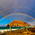 Double Rainbow Over LaJolla, California