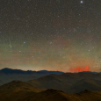Red Sprites and Airglow