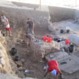 Excavation of the Roman Fort of Legio in the Jezreel Valley of Israel
