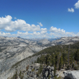 Views from Clouds Rest in Yosemite National Park
