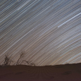 Star Trails and Moiré Patterns in Night-Sky Photography