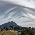 Cerro Tomolasta and Cloud Shapes