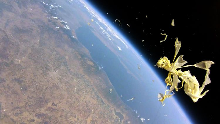 High Altitude Balloon Burst