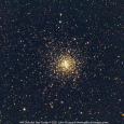 M4 Globular Star Cluster - The Golden Globular