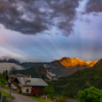 Anticrepuscular Rays and Alpenglow