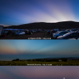 Anticrepuscular Rays and Lunar Eclipse