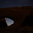 Comet Neowise Seen from Arches National Park