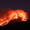 Etna: Its Lava and Incandescent Fumes