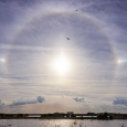 22 Degree Halo Observed from Melbourne, Florida