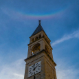 Cibiana di Cadore and Circumzenithal Arc