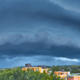 Arcus Cloud over Villa Gesell in Buenos Aires Province