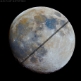 Mineral Moon and ISS Transit