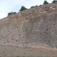 Fossilized Footprints in Abiego, Spain
