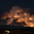 Strong Thunderstorm Over France