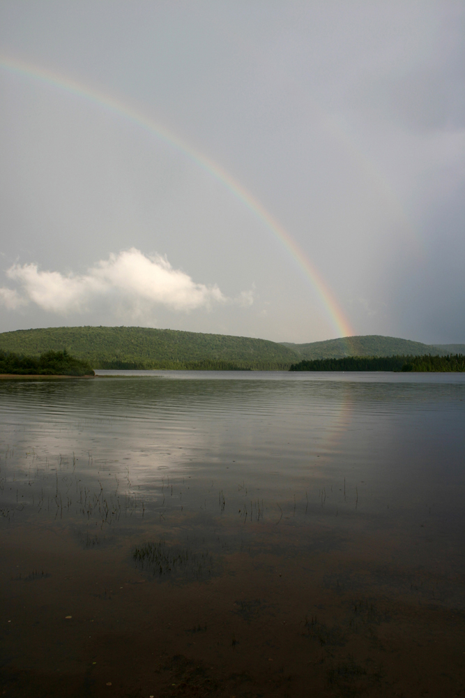 Double Rainbow in Quebec